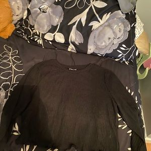 Black long sleeve, from SHEIN